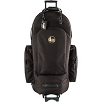 Gard 4/4 Medium Frame Tuba Wheelie Bag 63-Wbfsk Black Synthetic W/ Leather Trim