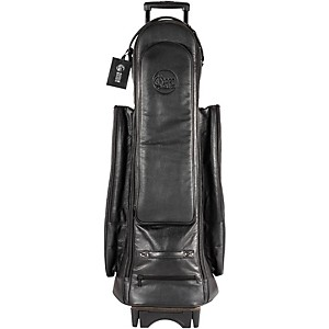 Gard Bass Trombone Wheelie Bag 24-Wbflk Black Ultra Leather
