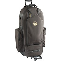 Gard 4/4 Large Frame Tuba Wheelie Bag 64-Wbfsk Black Synthetic W/ Leather Trim