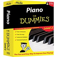 Emedia Piano For Dummies Level 2 Cd-Rom