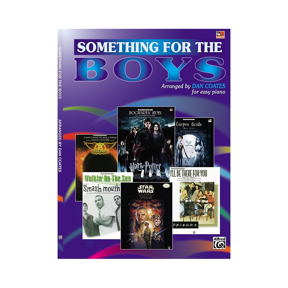 Alfred Something For The Boys Easy Piano 1288217329305