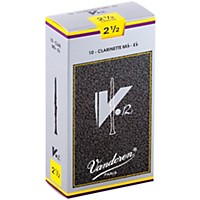 Vandoren V12 Series Eb Clarinet Reeds Strength 2.5, Box Of 10