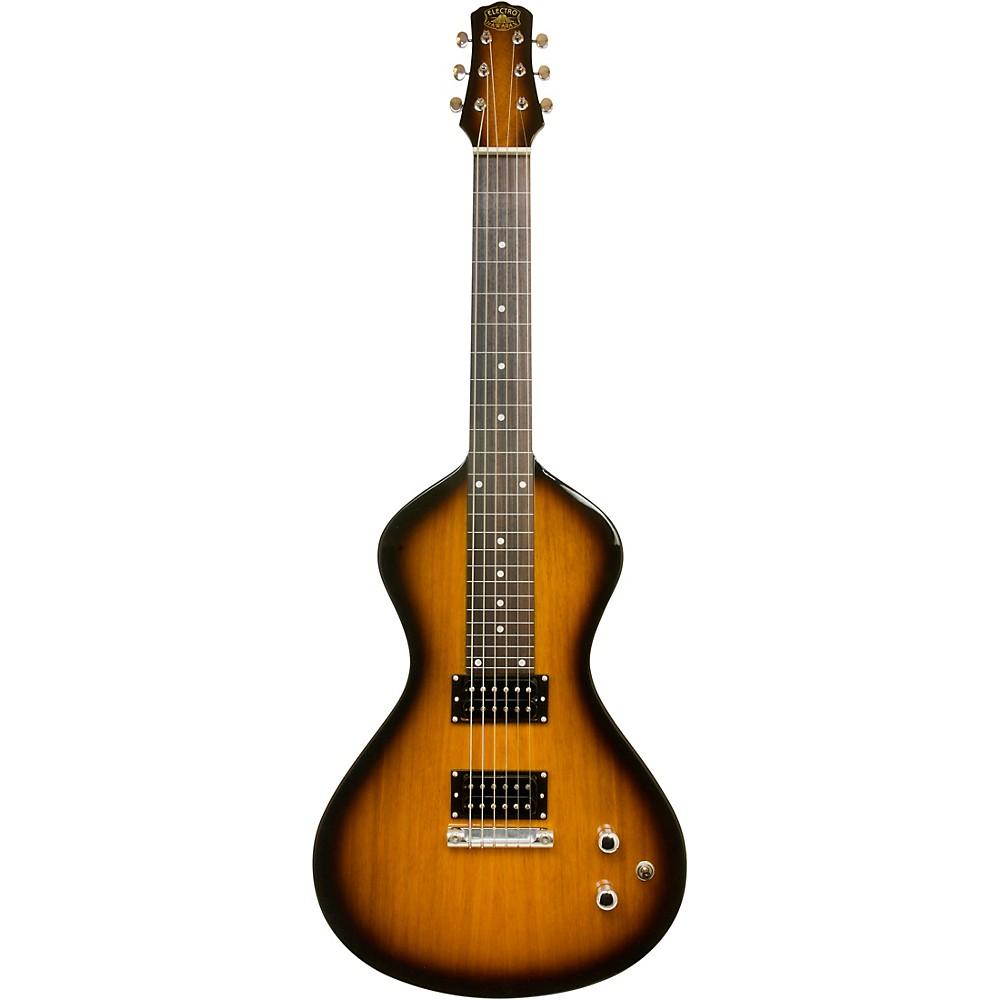 Asher Guitars & Lap Steels Electro Hawaiian Junior Lap Steel Guitar Tobacco Burst (1289600495739 AJ-200TB) photo