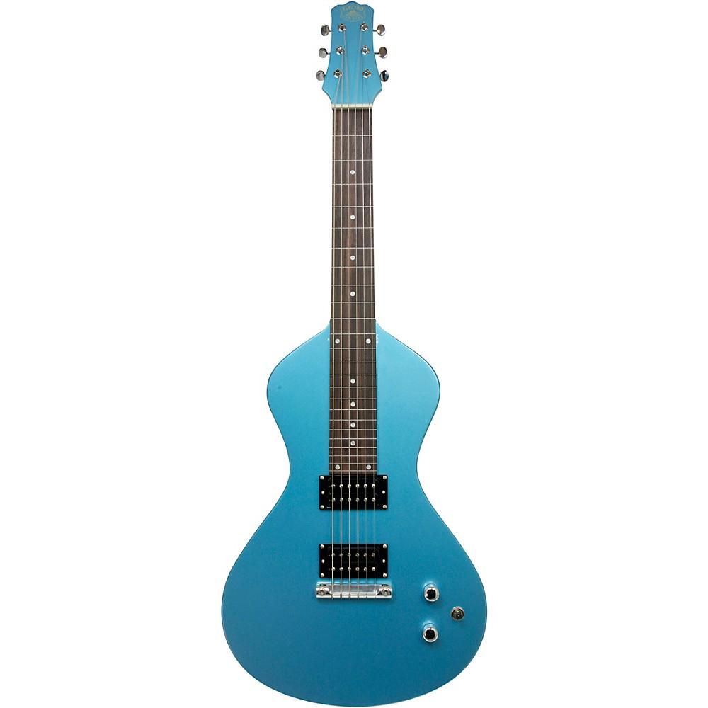 Asher Guitars & Lap Steels Electro Hawaiian Junior Lap Steel Guitar Lake Placid Blue (1500000278765 AJ-200PB) photo