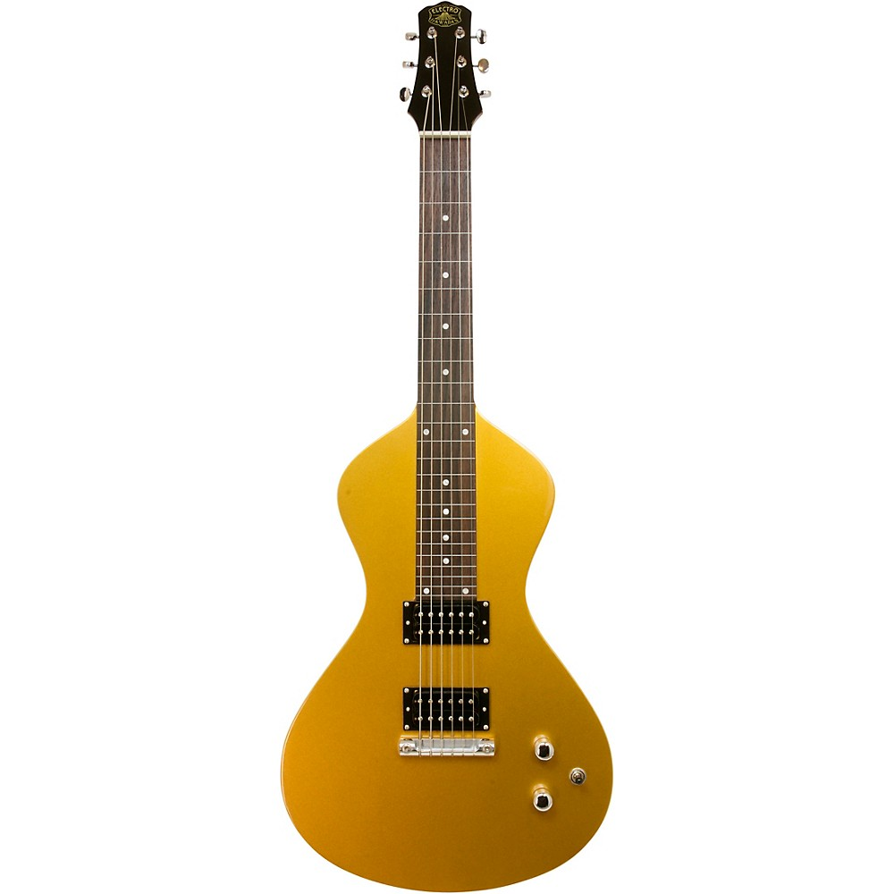 Asher Guitars & Lap Steels Electro Hawaiian Junior Lap Steel Guitar Gold Top (1500000278766 AJ-200GT) photo