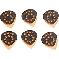 Dava Jazz Grip Gels Small 6-Pack Clear Orange