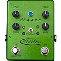 Keeley Phaser Guitar Effects Pedal Green Sparkle