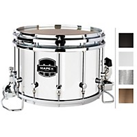 Mapex Quantum Agility Snare Drum 14 X 10 In. Gloss White/Gloss Chrome Hardware