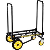 Rock N Roller R6rt Multi-Cart 8-In-1 Equipment Transporter Cart Black Frame/Yellow Wheels Mini