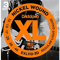 D'addario Exl110 Nickel Light Electric  ...