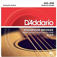 D'addario Ej17 Phosphor Bronze Medium  ...