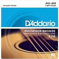 D'addario Ej16 Phosphor Bronze Light  ...