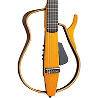 Yamaha Slg130nw Classical Style Silent Guitar Light Amber Burst