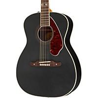 Fender Tim Armstrong Hellcat Acoustic Guitar Black Ruby