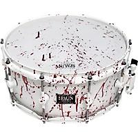 Spaun Blood Spatter Maple Snare Drum 14 X 6 In.