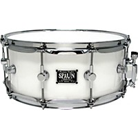 Spaun Led Acrylic Snare Drum White  ...