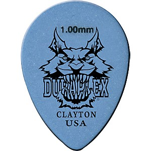 Clayton Duraplex Delrin Small Teardrop Picks 1 Dozen .50 Mm