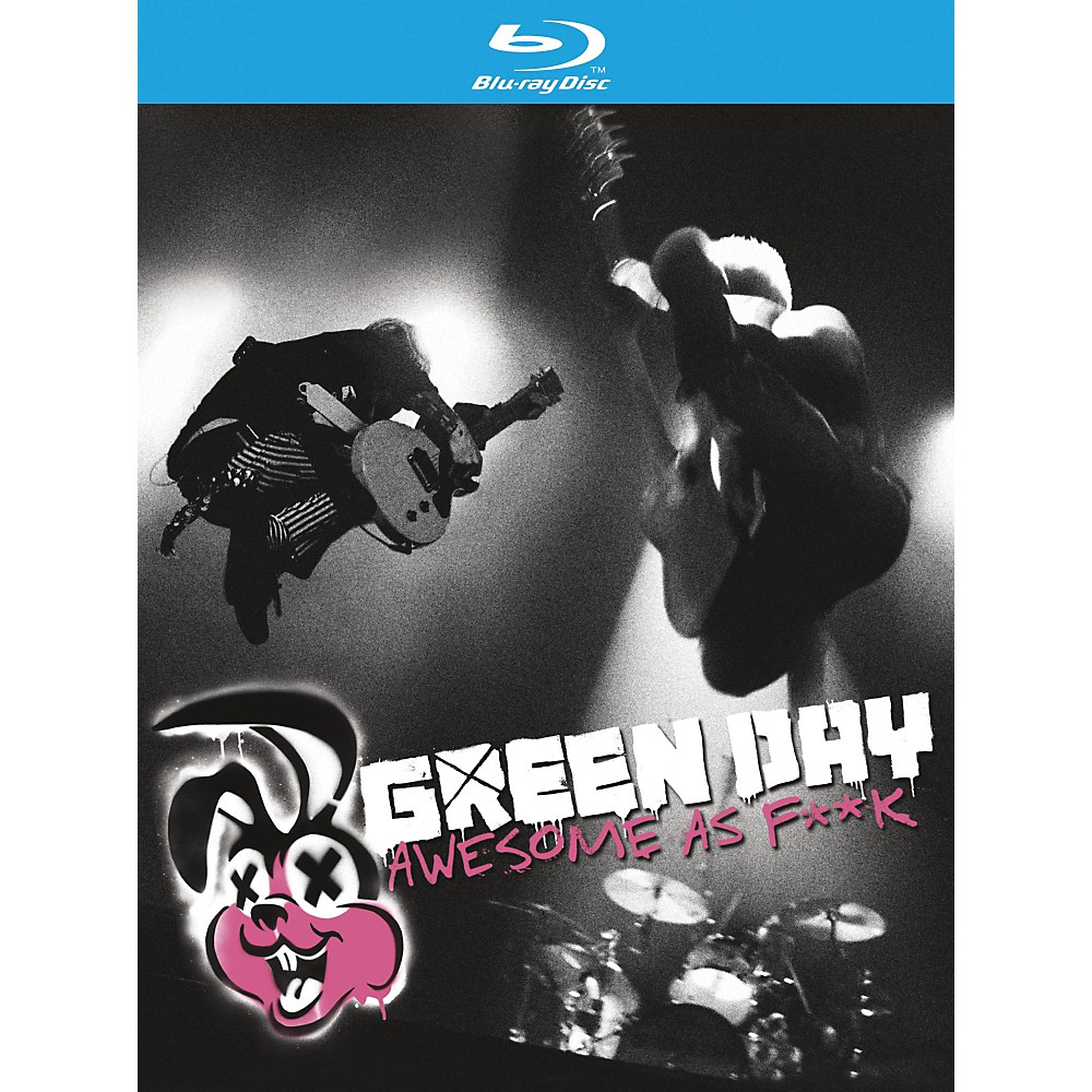 WEA Green Day - Awesome As F**K CD & BLU-RAY or DVD Blu-ray 1297873816282
