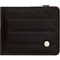 Mono Civilian Die Cut Wallet Jet Black