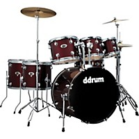 Ddrum D2 7-Piece Drum Set With Free Sabian  ...