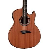 Dean Exhibition Thin Body Acoustic-Electric Guitar W/Aphex Satin Natural