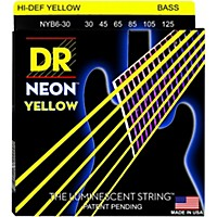 Dr Strings Neon Hi-Def Yellow Bass  ...