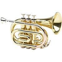 Allora Mxpt-5801 Series Pocket Trumpet Lacquer