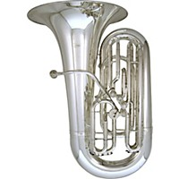 Kanstul Model 66-S 4/4 Eeb Side Action Concert Tuba 66-S Silver