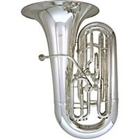 Kanstul Model 66-S 4/4 Eeb Side Action Concert Tuba 66-S Silver