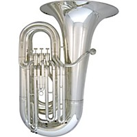 Kanstul 33-T Top Action Series 4-Valve 4/4 Bbb Tuba 33-T Silver