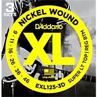 D'addario Exl125-3D Electric Guitar Strings  ...