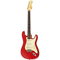 Fender Custom Shop 1960 Stratocaster Relic Electric Guitar Dakota Red