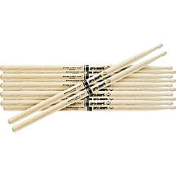 Promark 6-Pair Japanese White Oak Drumsticks Nylon 747Bn