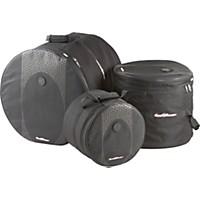 Road Runner Touring 3-Piece Drum Gig Bag Set Black 10X12, 16X16 & 18X22