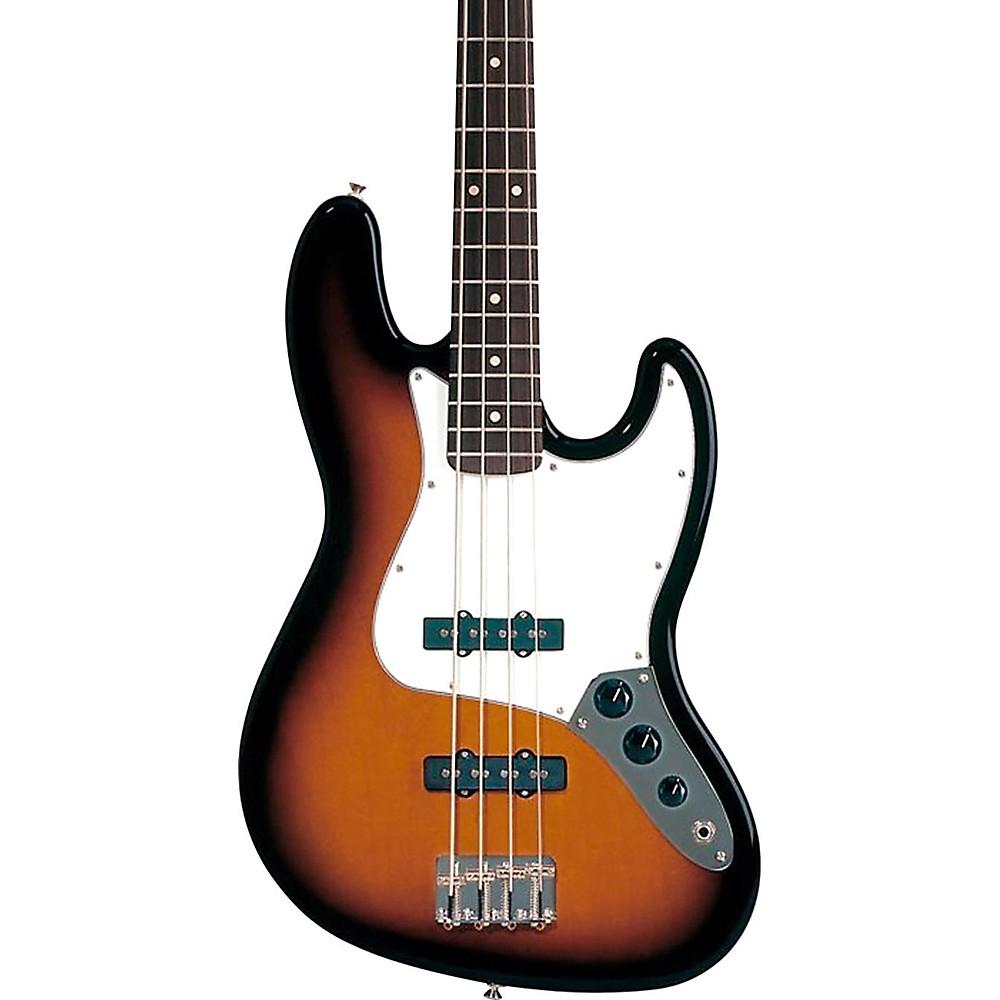 Fender Standard Jazz Bass Guitar Brown Sunburst Rosewood Fretboard