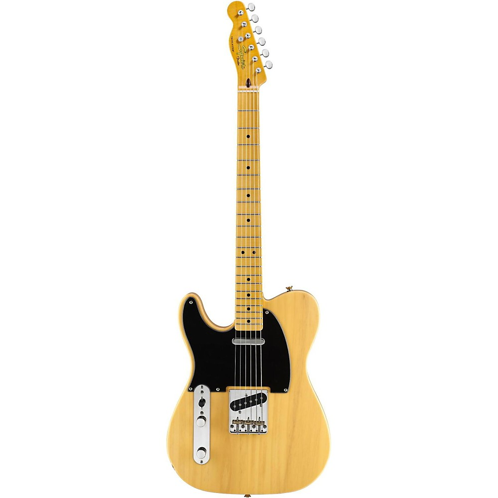 Squier Classic Vintage Left-Handed '50s Telecaster Electric Guitar Butterscotch Blonde 1314371183281