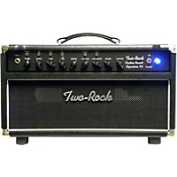 Two Rock Trcu50hdtr Custom Reverb V3 Tr 50W Tube Guitar Amp Head Black