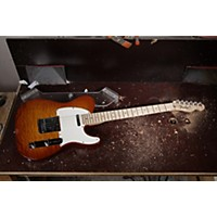 Fender Custom Shop 2012 Custom Deluxe Telecaster Electric Guitar Faded Honey Burst Maple Fretboard