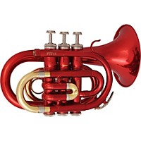 Prelude By Conn-Selmer Pt711 Series Bb Pocket Trumpet Pt711r Red