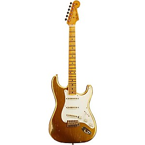 Fender Custom Shop 1955 Stratocaster Relic Ash Masterbuilt By John Cruz Gold