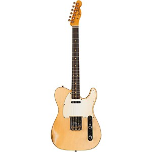 Fender Custom Shop 1959 Telecaster Custom Relic Masterbuilt By John Cruz Transparent White Blonde