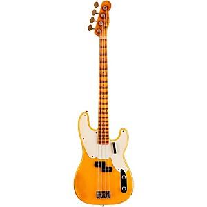 Fender Custom Shop 1955 Precision Bass Relic Masterbuilt By John Cruz Nocaster Blonde