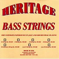 Kolstein Heritage Orchestral / Jazz Bass Strings Hs-494 Set