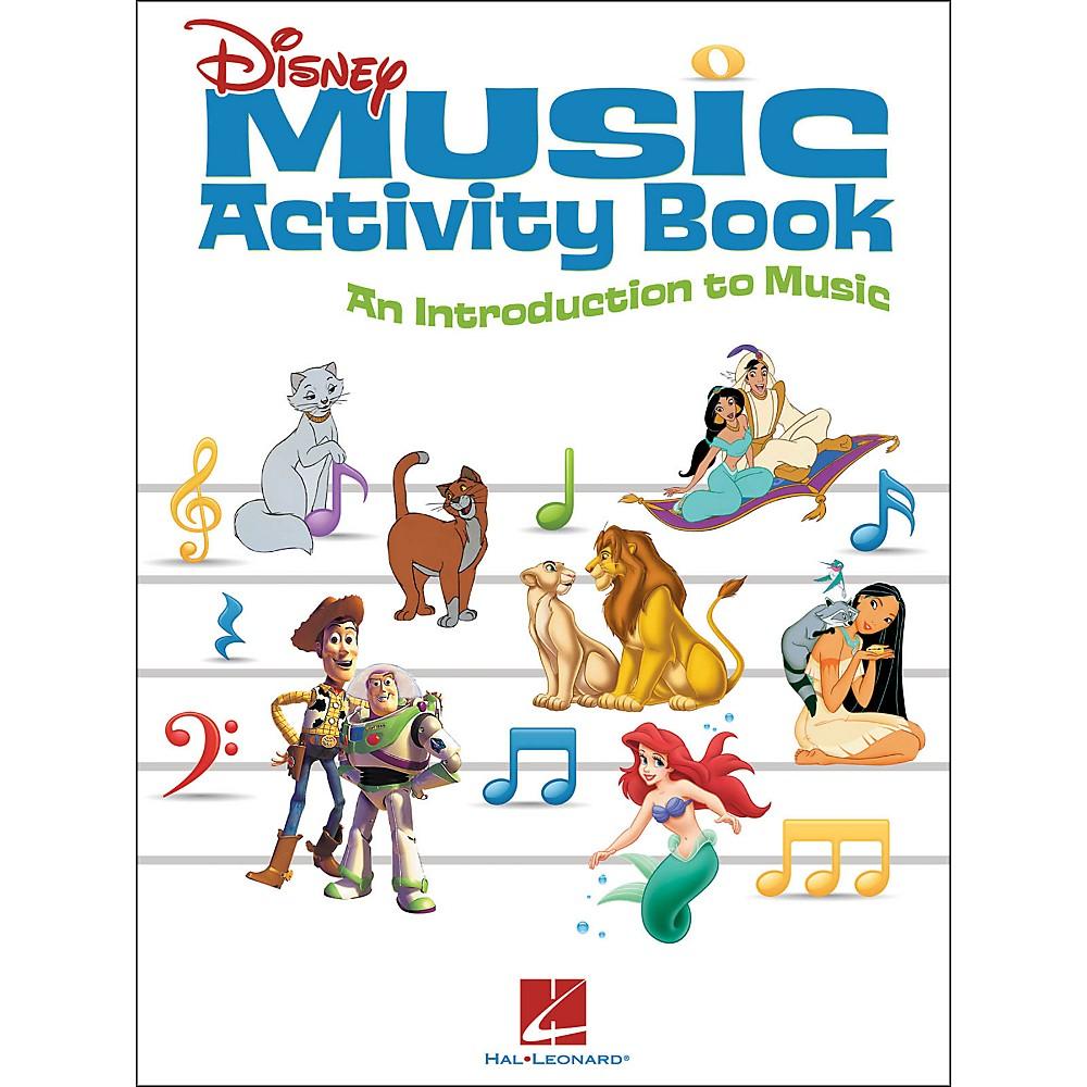 Hal Leonard Disney Music Activity Book 1322862755875
