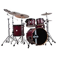 Ddrum Reflex Rsl 5-Piece Shell Pack Wine  ...