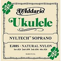 D'addario Ej88s Nyltech Soprano Ukulele  ...