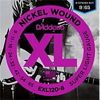 D'addario Exl120-8 8-String Super Light  ...