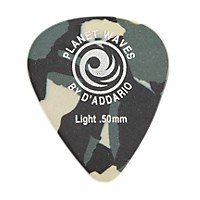 D'addario Planet Waves Camouflage Celluloid Guitar Picks Light 10 Pack