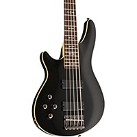 Schecter Guitar Research Omen-5 Bass Left-Handed Electric Guitar Black