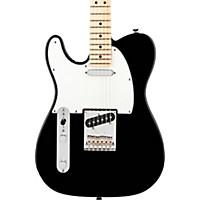 Fender American Standard Telecaster Left-Handed Electric Guitar With Maple Fingerboard Black Maple Fingerboard